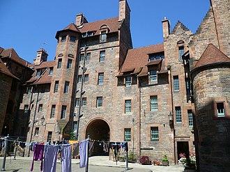 Dean Village - Well Court, Edinburgh