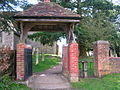 Wellow Church gate.JPG