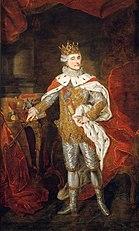Portret Stanisława Augusta Poniatowskiego w stroju koronacyjnym