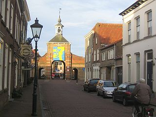 Aardenburg Place in Zeeland, Netherlands
