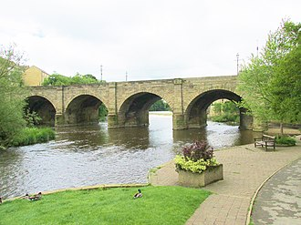 Wetherby Bridge - Image: Wetherby Bridge (geograph 4074920)