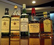 Whiskies of various styles