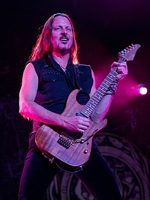 Reb Beach - Reb Beach performing in 2015