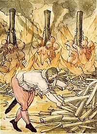 中世西洋における魔女狩り