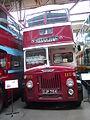 Wigan Corporation bus 115 (DJP 754), Museum of Transport in Manchester, 2 June 2012.jpg