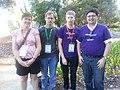 Wikimedians at LCA2014.jpeg