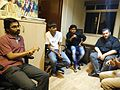 Wikimeetup Bangalore 59 Jef Asaf Listens.jpg