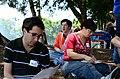 Wikipedians gathering 7948.JPG