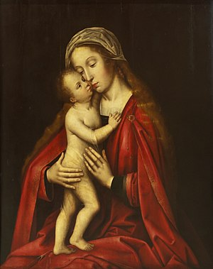 Willem Benson - Virgin and child, 1550