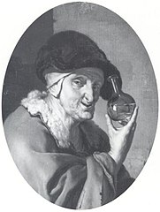 An Old Woman with Urine Glass: \