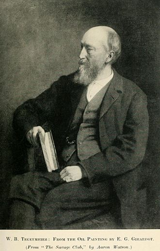 William Bernhardt Tegetmeier - Image: William Bernhardt Tegetmeier 00