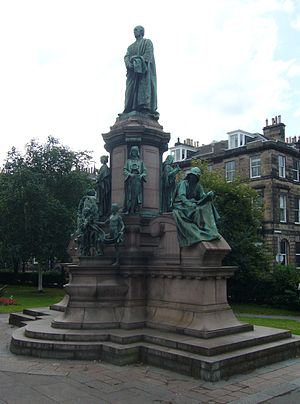 James Pittendrigh Macgillivray - The William Gladstone Monument, Edinburgh. An example of MacGillivray's work.