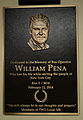 William Pena Plaque Dedication (14082194234).jpg