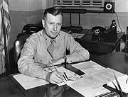 William Tunner at desk