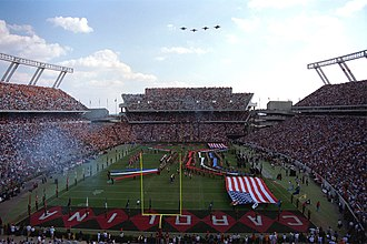 Williams-Brice Stadium - Image: Williams Brice Stadium 1998