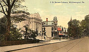 Williamsport pre 1921 postcard5