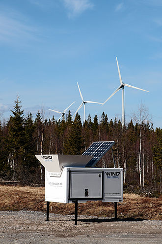 Wind profiler - WindCollector2 with a Scintec SODAR SFAS