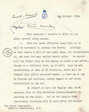 Churchill Archives Centre - Letter by Winston Churchill