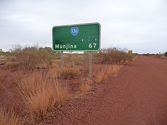 Wittenoom, Western Australia - Wittenoom has been removed from road signs and maps