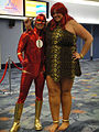 Wizard World Anaheim 2011 - the Flash and the 50-Foot Woman (5675035288).jpg