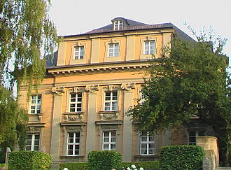 Carl von Gontard - Gontard's self-designed house in Bayreuth, now a parsonage