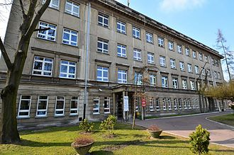 Marek Edelman - Specialized District Hospital named after Nikolay Pirogov in Łódź where Marek Edelman worked as cardiologist for over 30 years