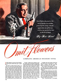 Omit Flowers short story by Rex Stout