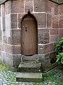 Wolframs-Eschenbach Liebfrauenmünster außen Tür 2.jpg