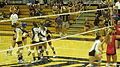 Women's volleyball, Fresno State at Cal 2010-09-11 4.JPG