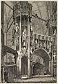 Wood engraving; shrine of Henry V; by J. Jackson Wellcome L0023918.jpg
