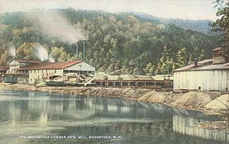 Woodstock, New Hampshire - Woodstock Lumber Co. c. 1915