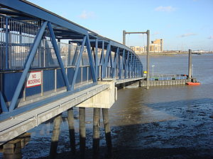 Woolwich Arsenal Pier - Image: Woolwich Arsenal Pier 1