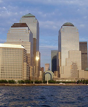 The World Financial Center in New York City, a...