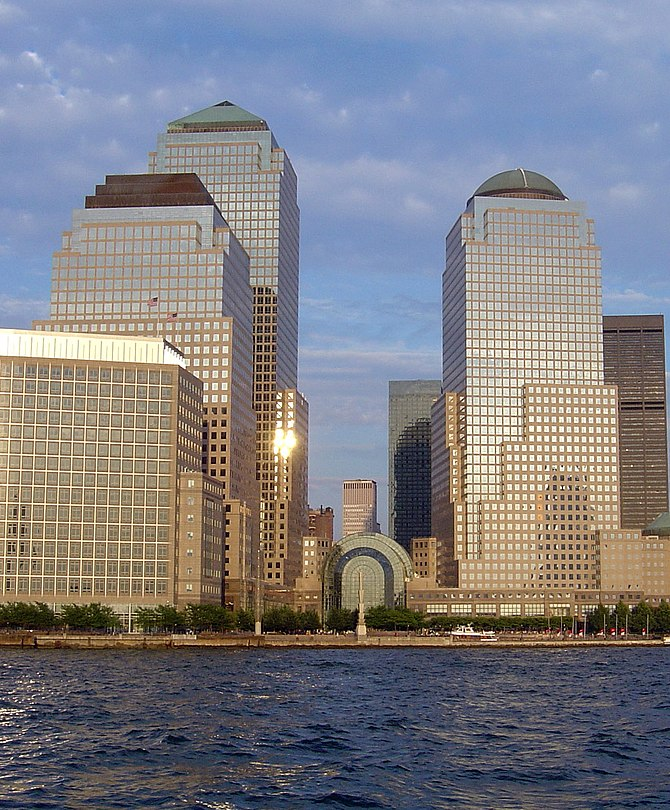 English: The World Financial Center in New Yor...