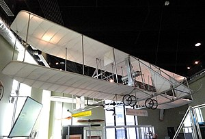 Franklin Institute - A 1911 Wright Brothers Model B flyer.