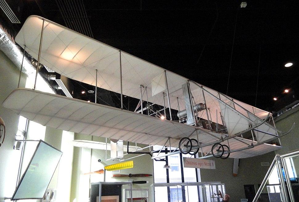 Wright 1911 Model B Flyer - Franklin Institute - DSC06579
