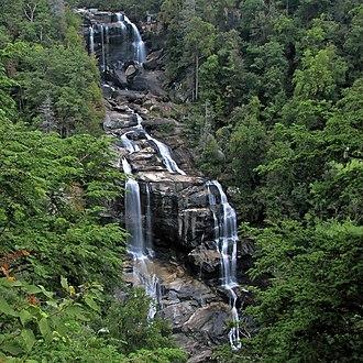 Whitewater Falls (North Carolina) - Upper Whitewater Falls