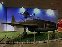 YAKOLEV 17UTI CHINESE AIR FORCE DATANSHAN AVIATION MUSEUM BEIJING CHINA OCT 2012 (8344822297).jpg