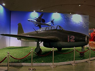 Yakovlev Yak-17 - Yak-17UTI in the Datanshan Aviation Museum, Beijing