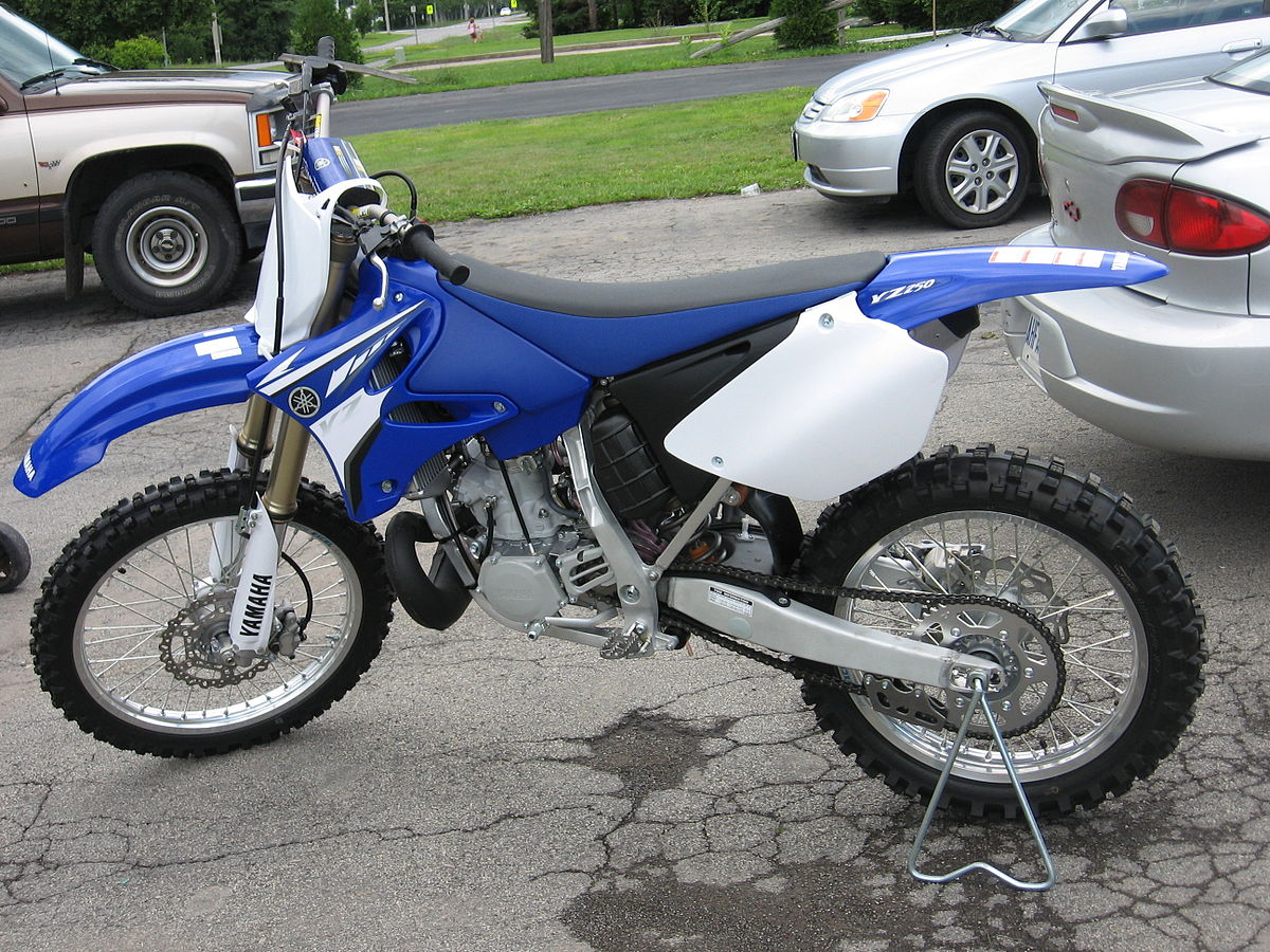 Yamaha yz250 wikipedia for Yamaha 250 four stroke
