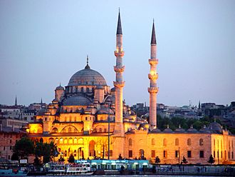 New Mosque (Istanbul) - The New Mosque (Yeni Cami) in Eminönü, Istanbul