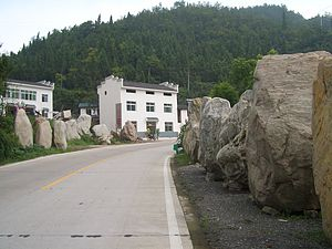 Yiling District - A quarry village