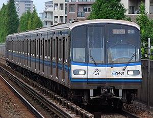 Jakarta MRT - Image: Yokohama city subway 3000Rkei