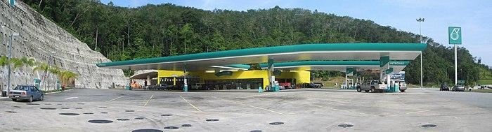 A Petronas petrol station