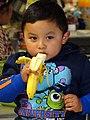 Young Boy with Banana - Quetzaltenango (Xela) - Guatemala - 02 (15982950341).jpg
