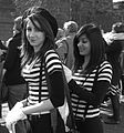 Young women dressed as mime artists in London.jpg