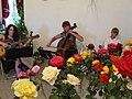 Zámek Veltrusy. Soutěžní výstava růží 2012 16.JPG