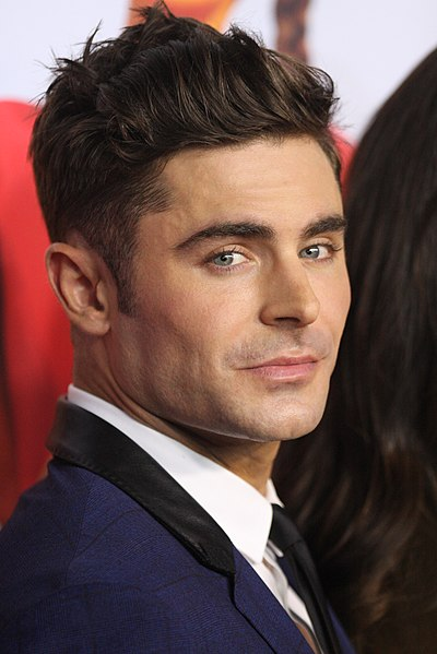Zac Efron, American actor and singer