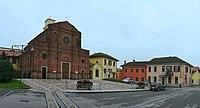 Zelo Surrigone - S. Giuliana E B.v. Del Carmelo - P.zza Roma - Via Manzoni - panoramio.jpg