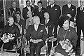 Zittend op de eerste rij v.l.n.r. Norah Michener, gouverneur-generaal Michener …, Bestanddeelnr 924-4519.jpg